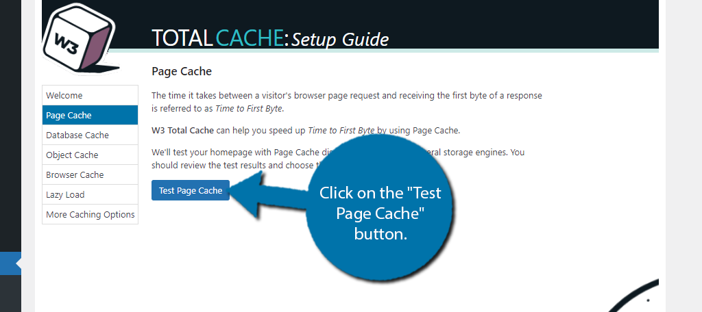 Test Page Cache