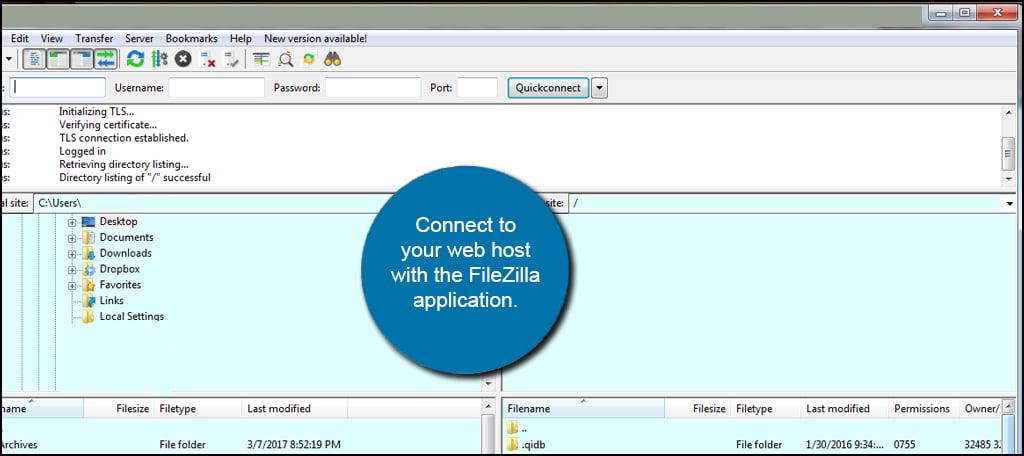 Drupal FTP