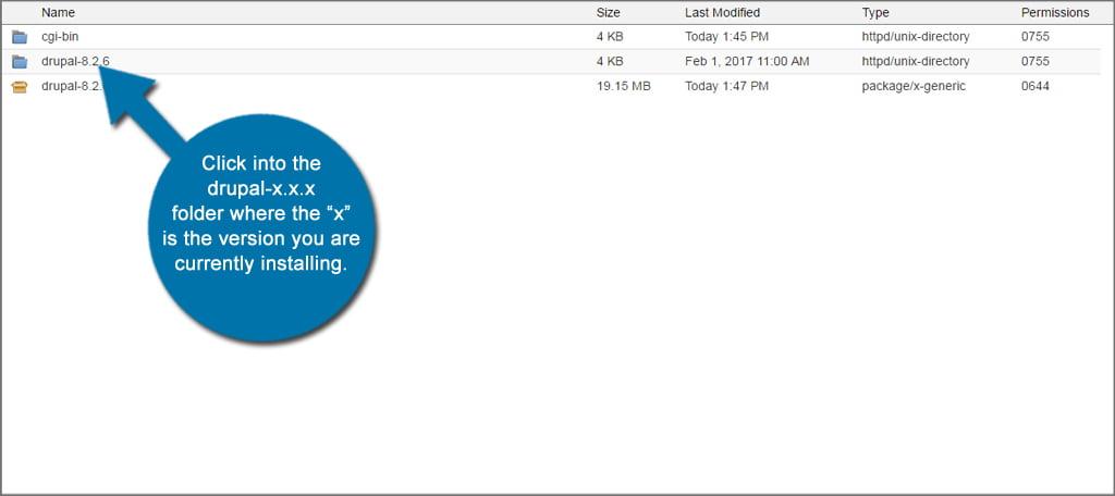 Drupal Install Folder