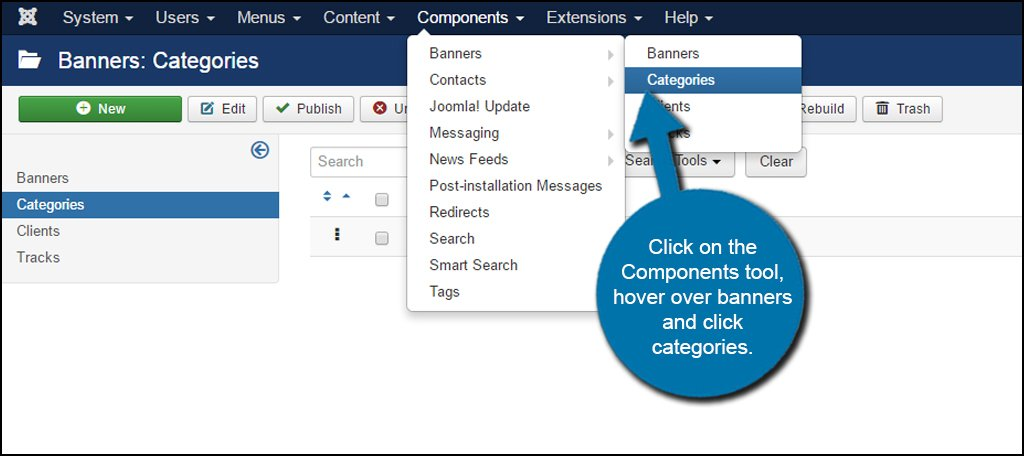 Joomla Component Category