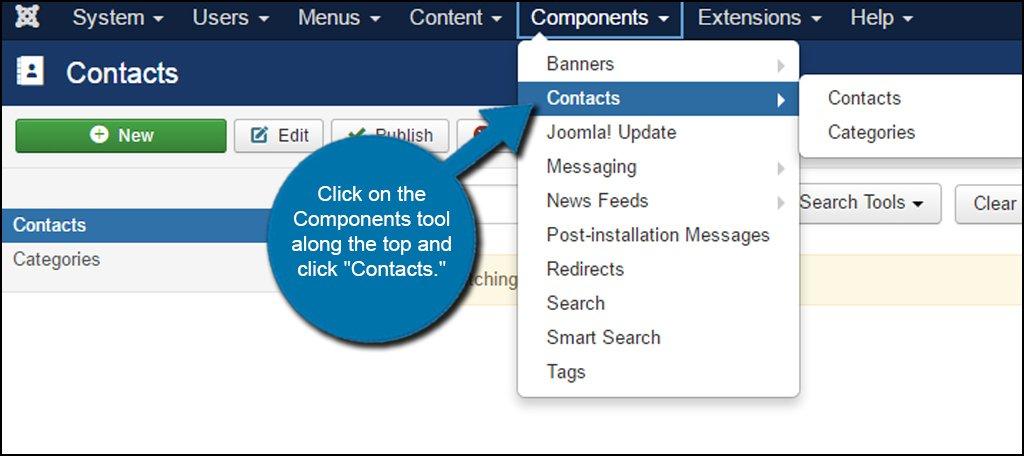 Joomla Contacts