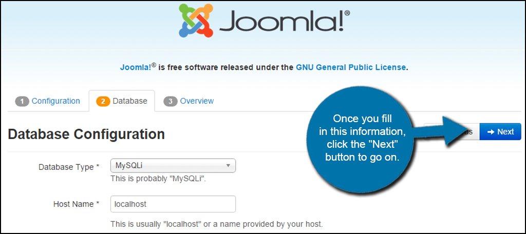 Joomla Database Info