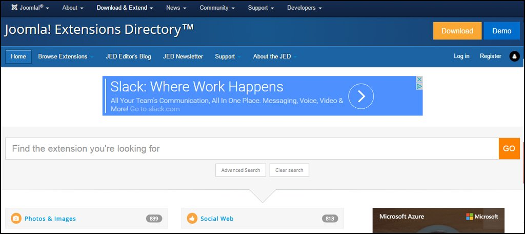 Joomla Extension Directory