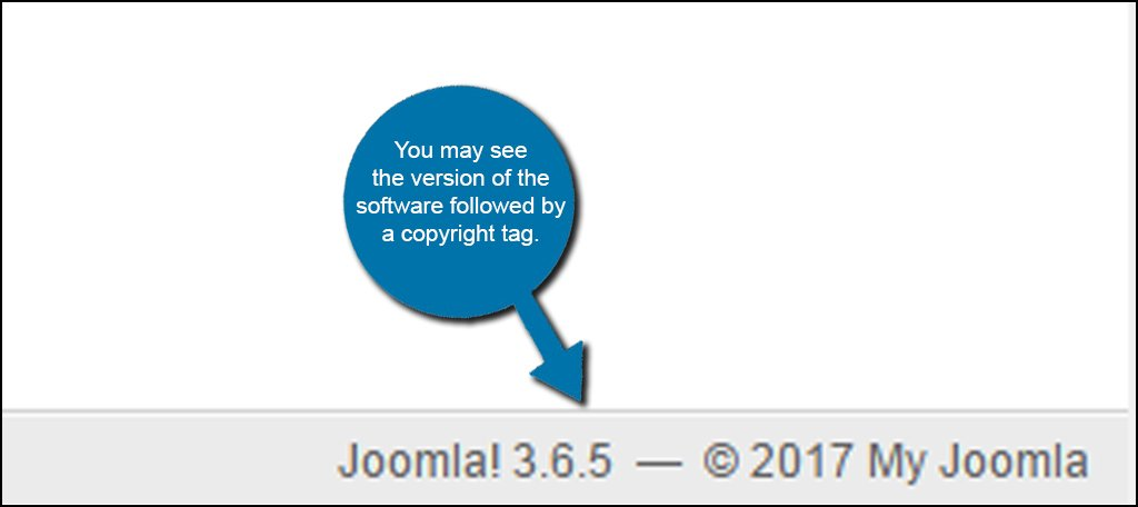 Joomla Version Control Panel