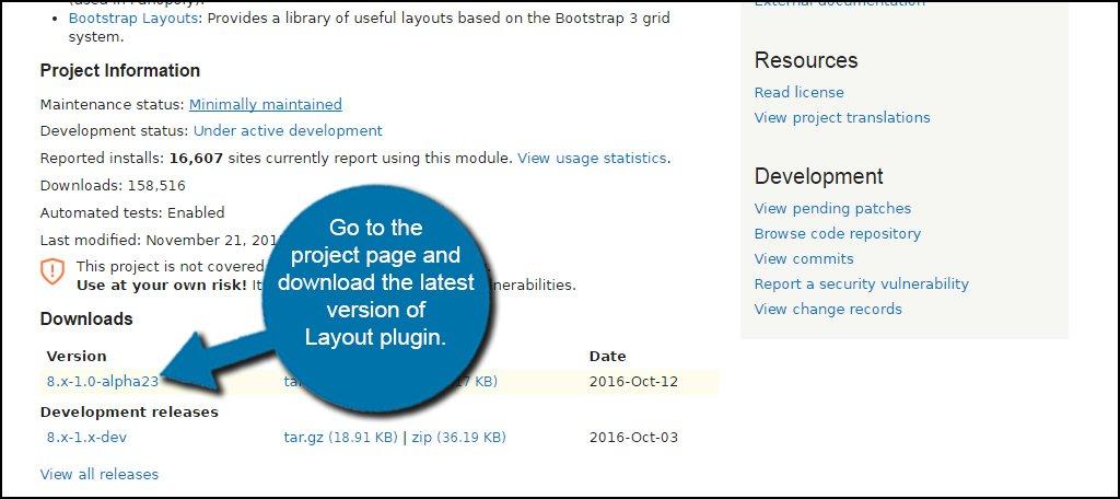 Layout Plugin Download