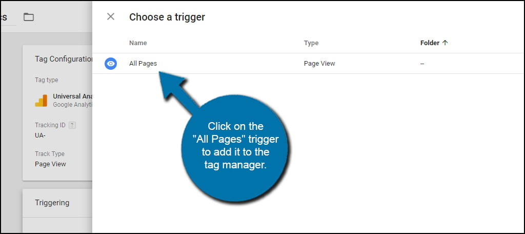 All Pages Tag Manager