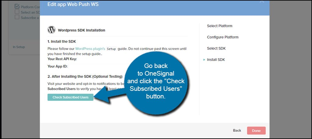 OneSignal Check Users