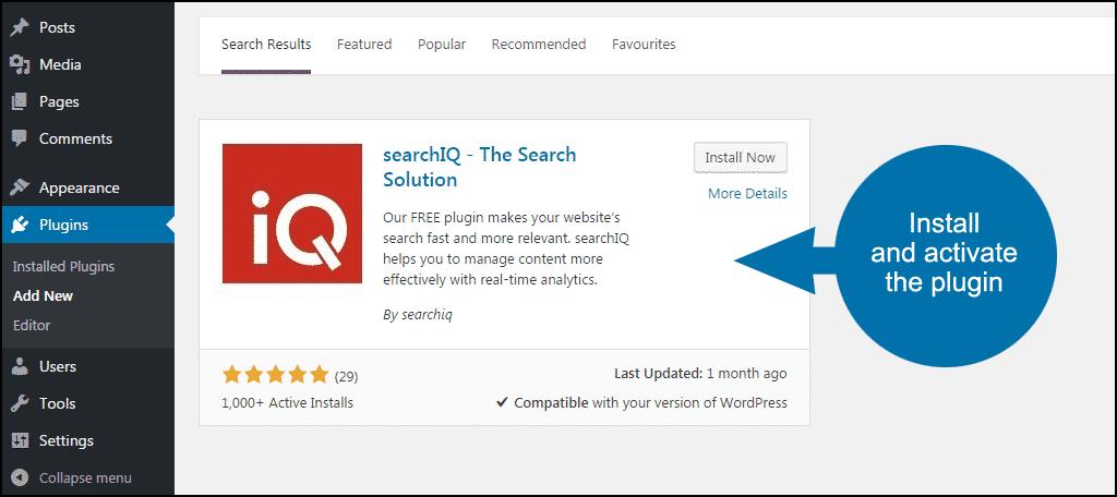 activate search iq