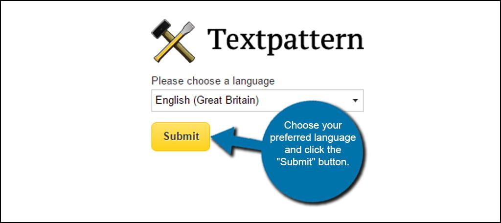 Textpattern Language