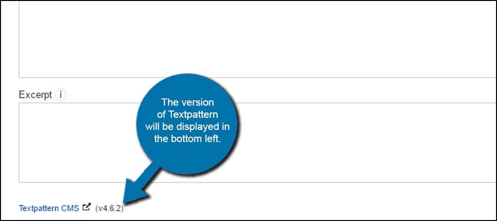 Textpattern Version