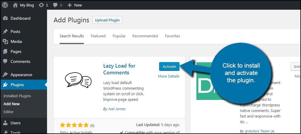 WordPress Activate Plugin