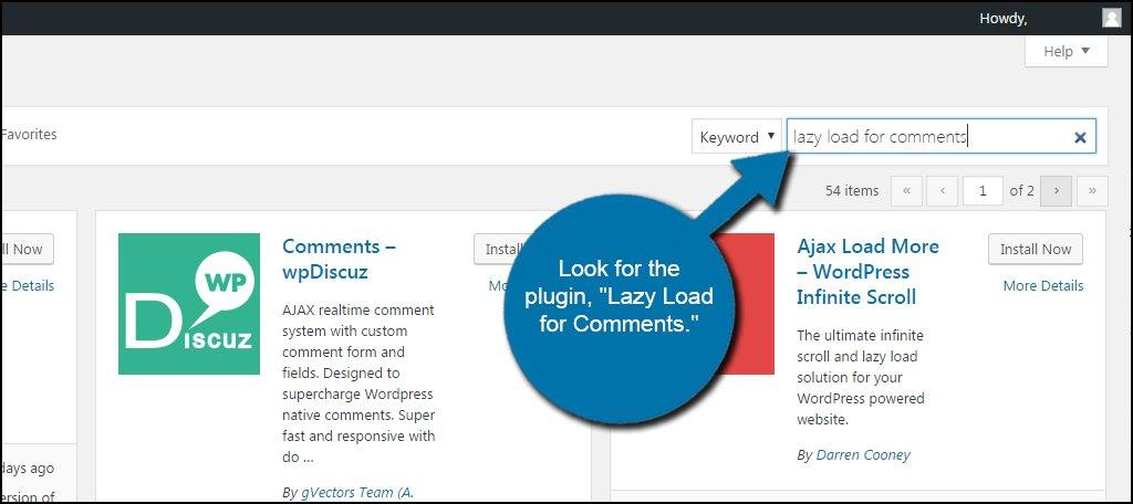 Комментарии WordPress с отложенной загрузкой