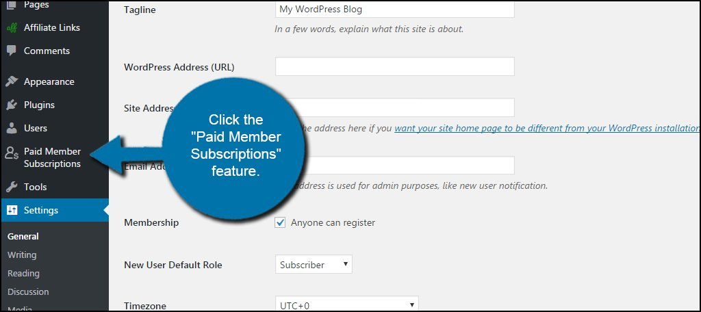 WordPress Paid Member Subscriptions