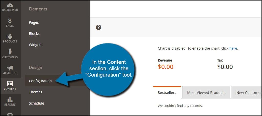 Configure Content