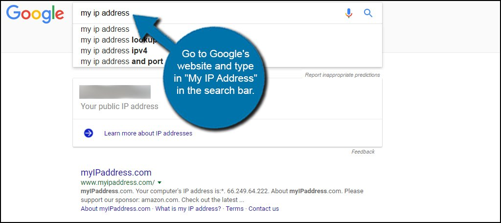 Google My IP