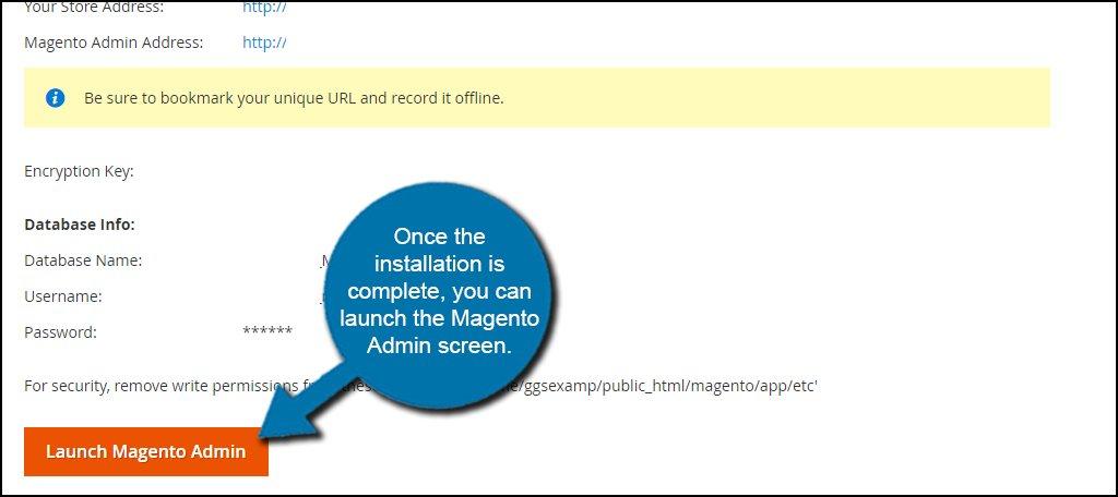 Magento Admin Launch