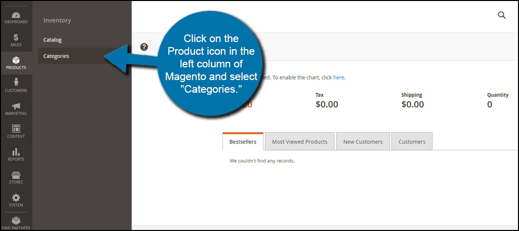 Magento Category Select