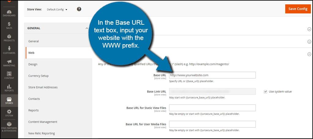 Magento Change URL Prefix