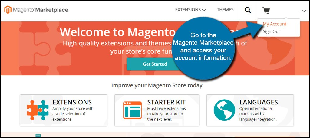 Magento Marketplace Account
