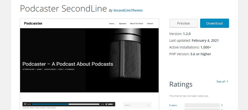 Podcast SecondLine