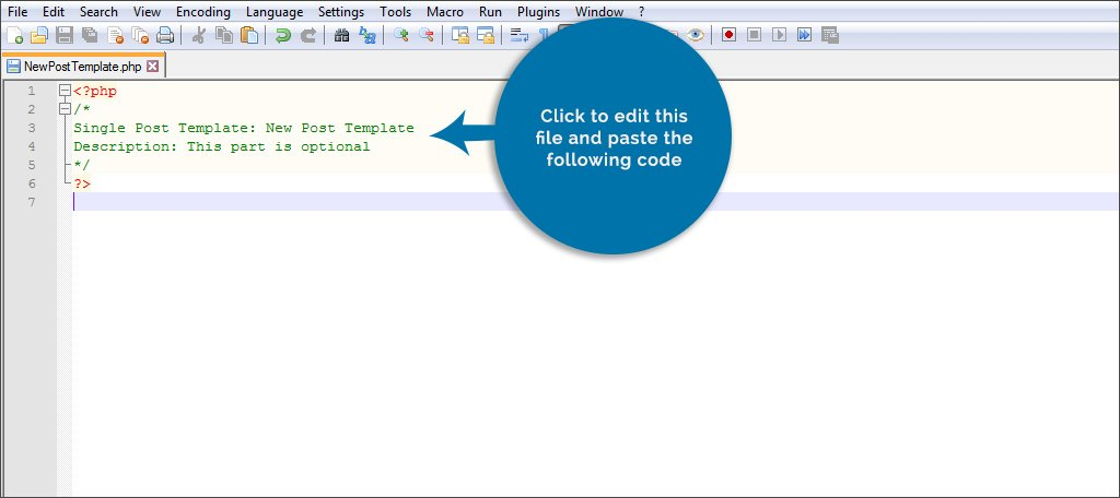 Edit File and Paste Code