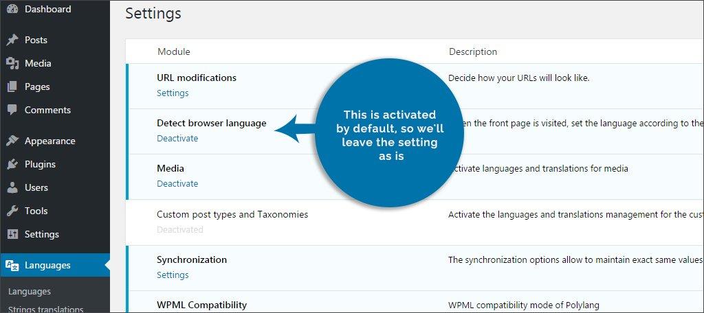 Detect Browser Language