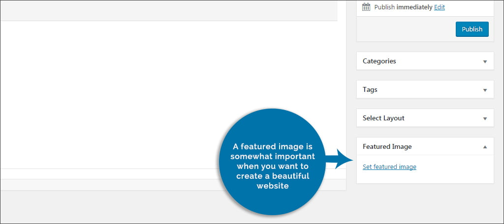 Uploading Featured Image