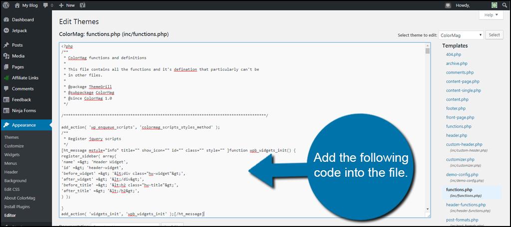 Add Code File