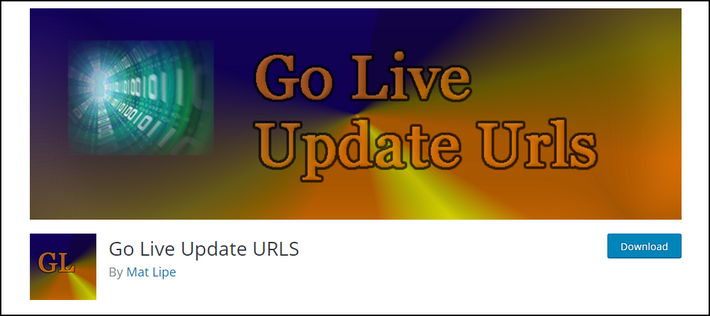 Go Live Update URLs