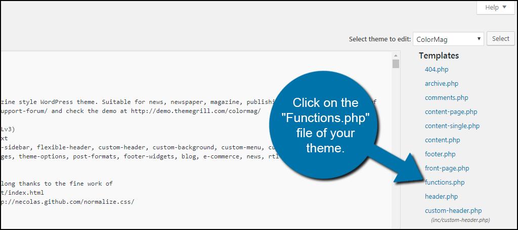 How to Place a Header Widget in WordPress - GreenGeeks