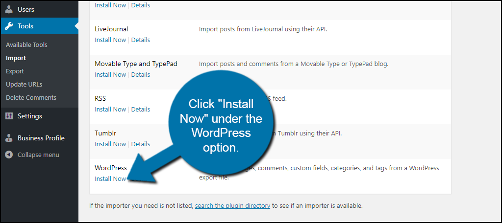 WordPress Install now