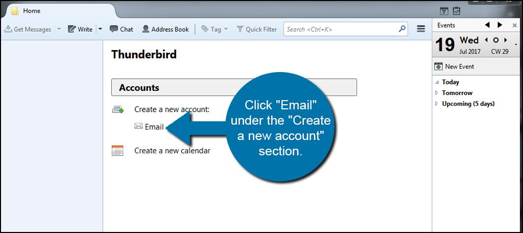 Mozilla Thunderbird 3 Email