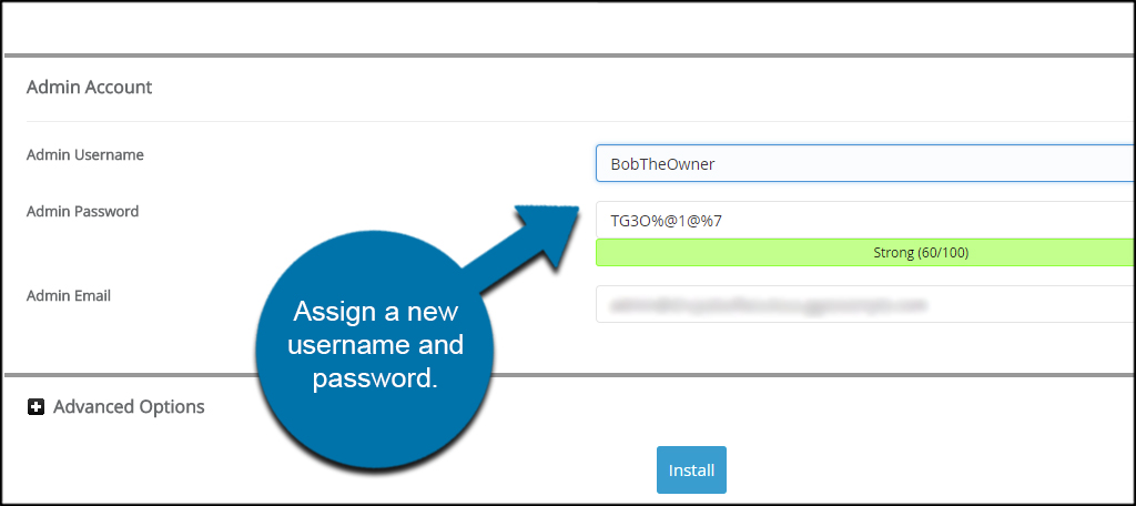 Assign Username