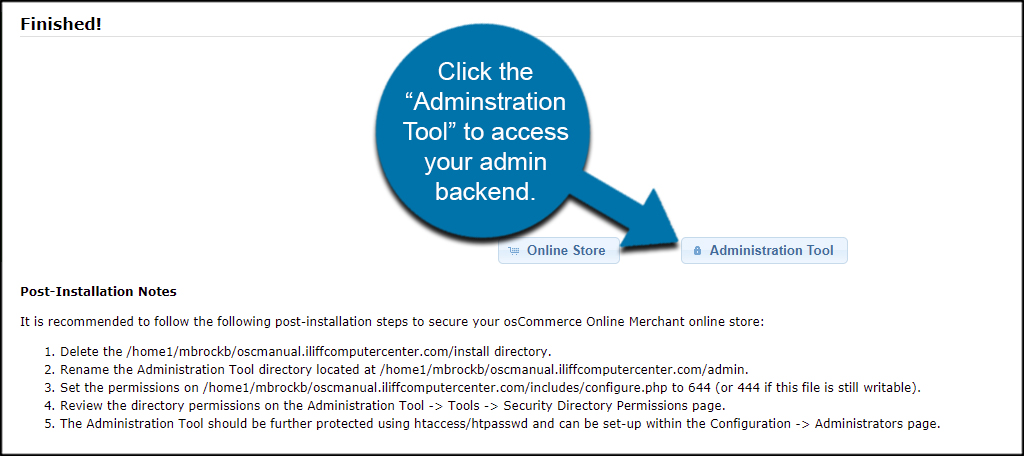 Admin Backend