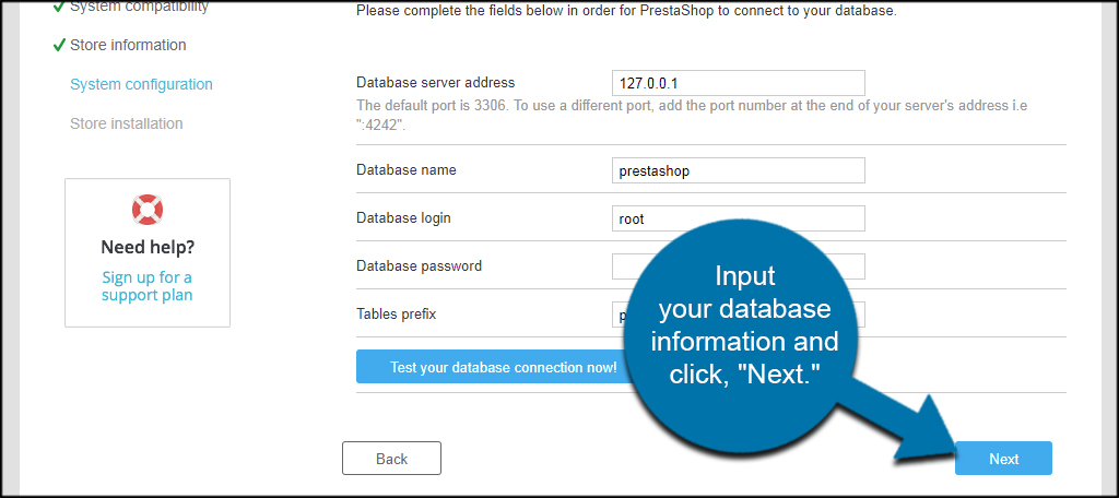 Database Next