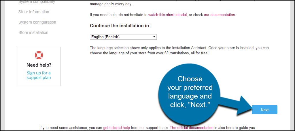 Language Next