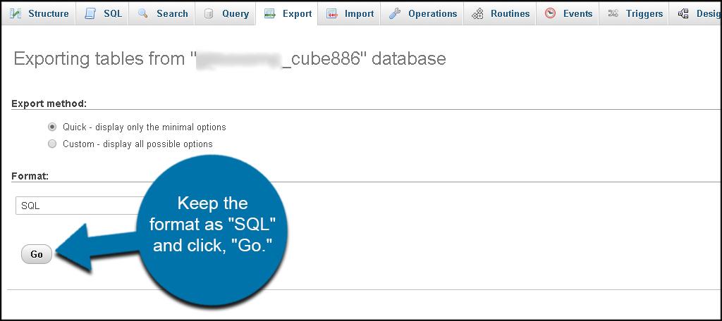 SQL Go