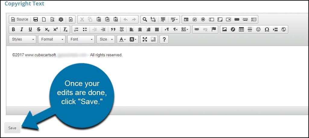 Save Copyright