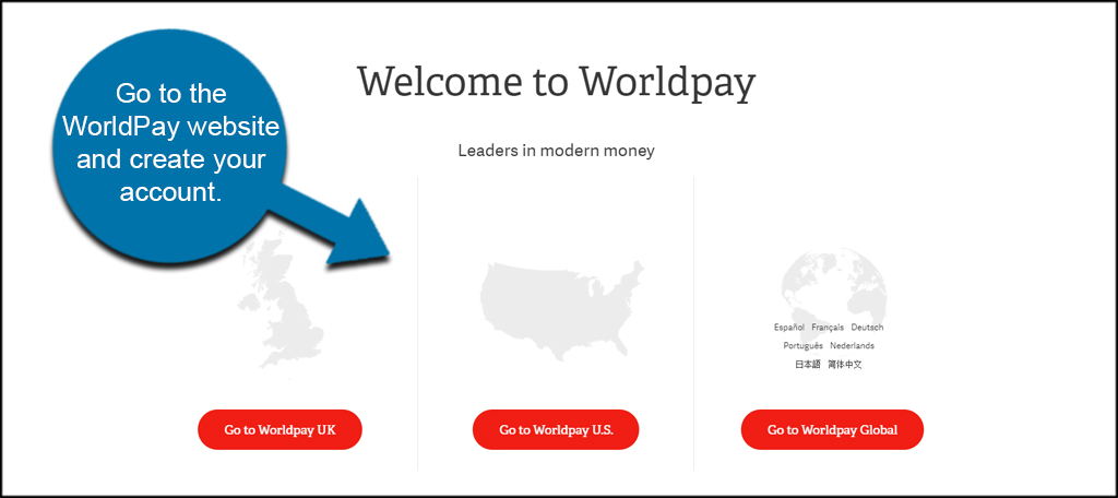 WorldPay Site