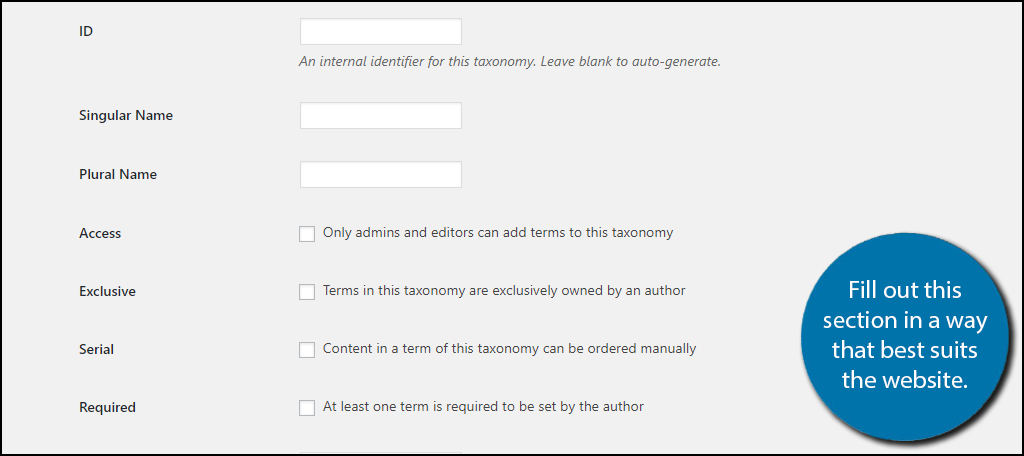 Fill out this section in a way that best suits your website.