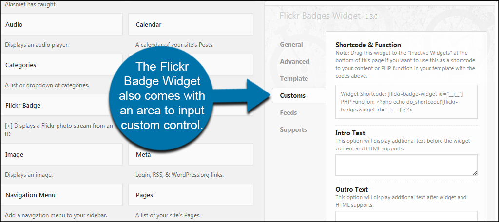 how to add a widget to a wordpress page
