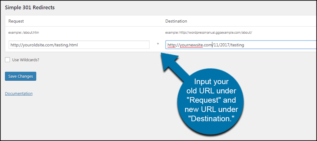 Input New URLs