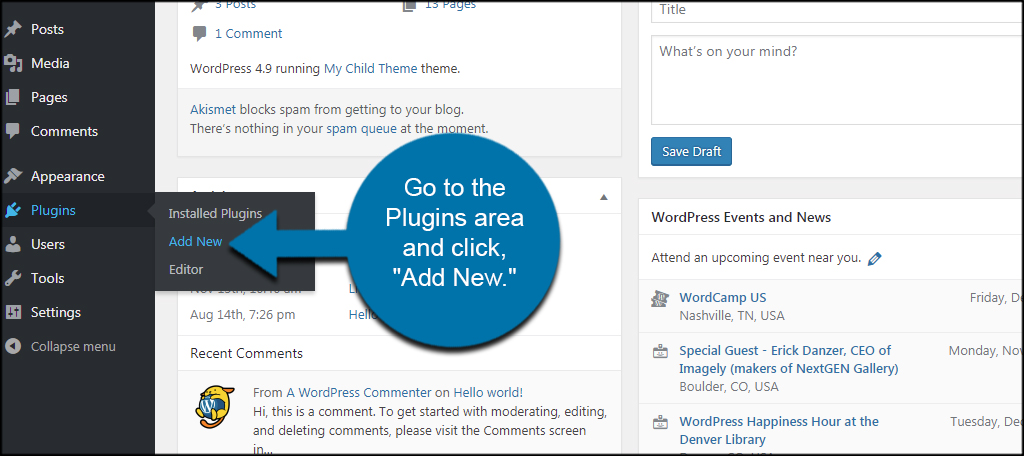 Plugin Add New