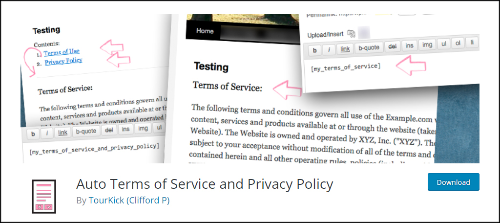 TOS And Privacy
