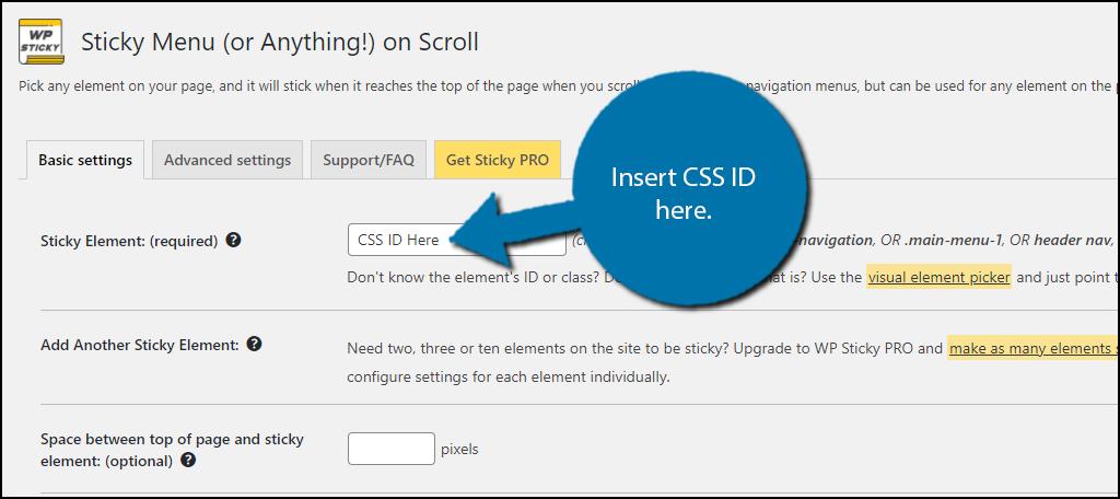 CSS-ID