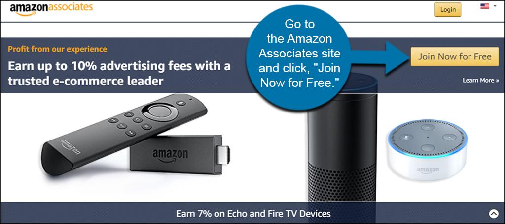 Join Amazon Associates