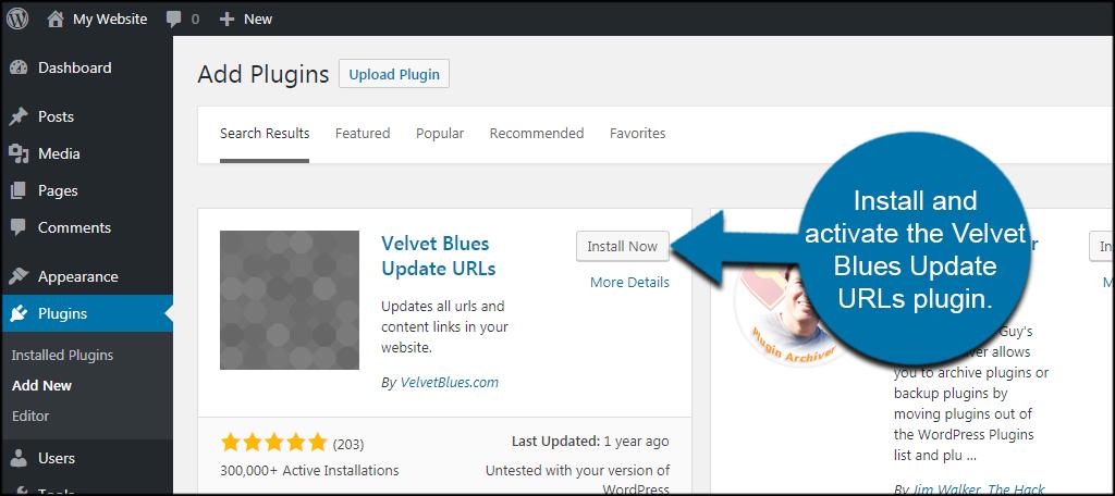 Velvet Blue Update URLs
