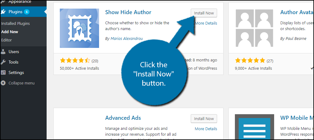 how to add author name in wordpress
