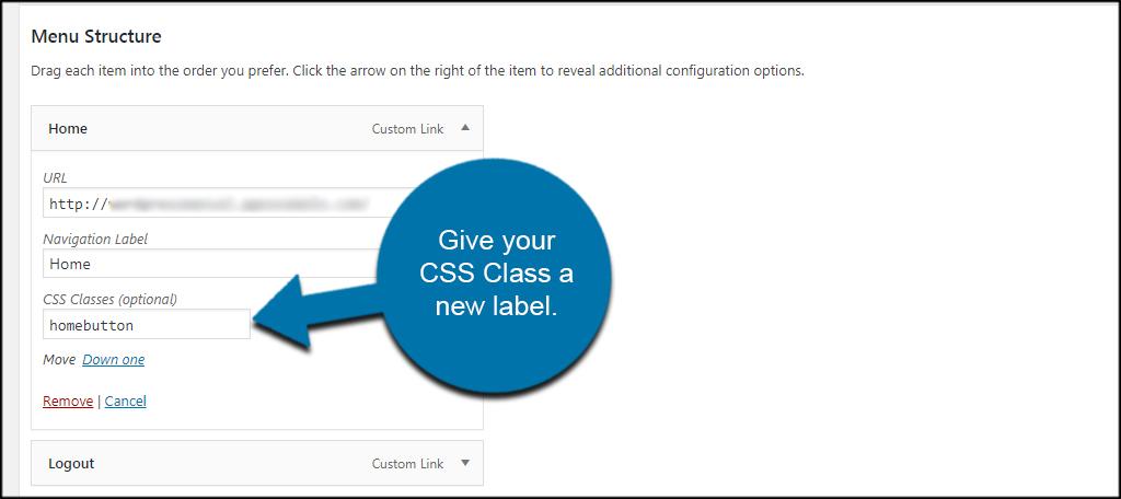CSS Label