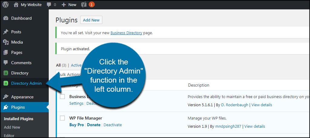 Directory Admin